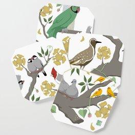 Lanai Birds of Hawaii Coaster