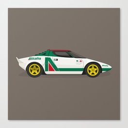 Alitalia Stratos Canvas Print