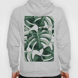 Tropical Monstera Leaves Dream #2 #tropical #decor #art #society6 Hoody