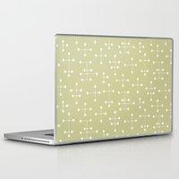 eames Laptop & iPad Skins featuring Eames Era Dots 24 by Makanahele