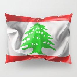 Lebanon Flag Pillow Sham