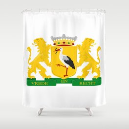 Coat of arms of The Hague Shower Curtain