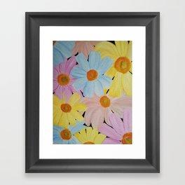 Daisy's Galore Framed Art Print