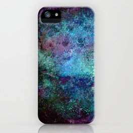 Kepler-22b blue gradient iPhone Case