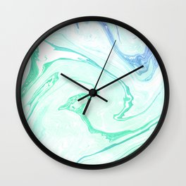 Emerald garden Wall Clock