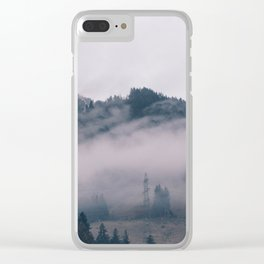 Swiss Fog IV Clear iPhone Case