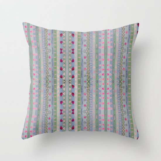 Hearts Pattern Throw Pillow