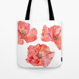 Wilds Poppies Tote Bag