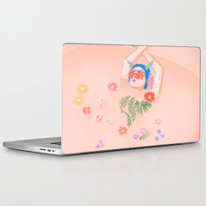 Flower Bath Laptop & iPad Skin