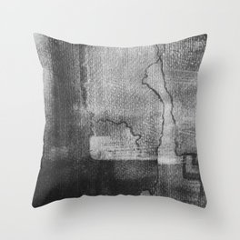 Greyscale 1 Throw Pillow