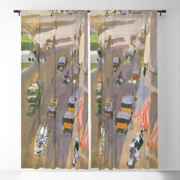 Fifth Avenue New York By Joaquin Sorolla Blackout Curtain
