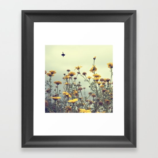 a spring clean for the May queen Framed Art Print