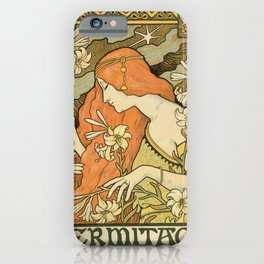 Ermitage Art Nouveau Magazine iPhone Case