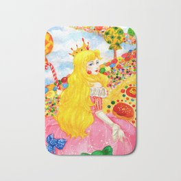 Candy Princess from Fairy Tales Bath Mat