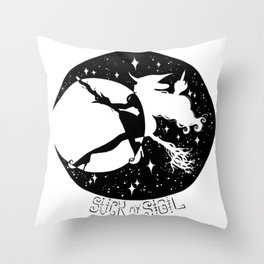 Bitchin' Hour Throw Pillow