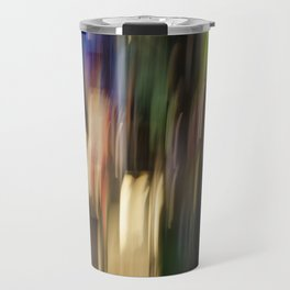 Colorful Bright Light Abstract Travel Mug