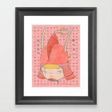 Genghis Khan - TEMUJIN 19 Framed Art Print