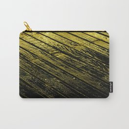 abstract fine art photography light water reflection pattern wood texture Carry-All Pouch