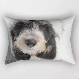 GBGV Puppy with Attitude Rectangular Pillow