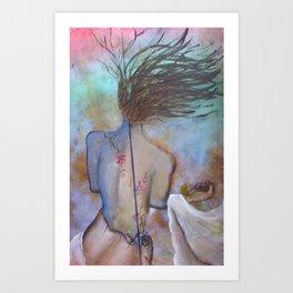 TRANSFIXED ~ On the Edge Art Print