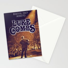 luke combs tour 2020 dede6 Stationery Cards