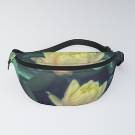 Yellow Lotus Flowers Fanny Pack