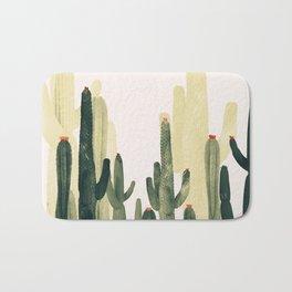Green Cactus 4 Bath Mat