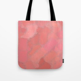 Shades of pink paint on a San Francisco building Tote Bag