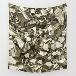 Pyrite Wall Tapestry