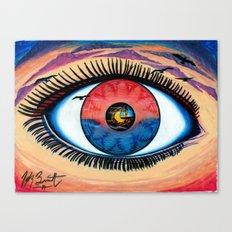 EyeSet Canvas Print