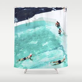 Resolutions (watercolour) Shower Curtain