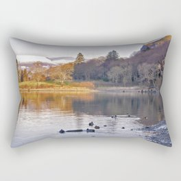By the Lakeside - Derwent Water Rectangular Pillow