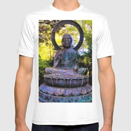Buddha in the park T-shirt