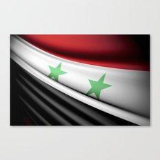 Flag of Syria Canvas Print