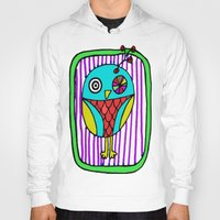 the who Hoodies featuring who? by Le Petit Juif
