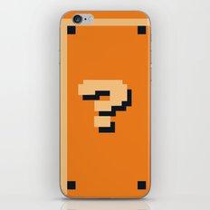 Minimalist Question Block iPhone & iPod Skin