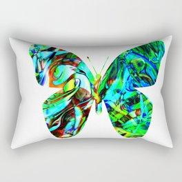 Fluid Butterfly  Rectangular Pillow