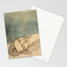 Sleep and Restore Stationery Cards