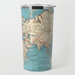 Pacific Projection World Map Travel Mug