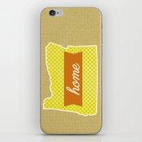 oregon iPhone & iPod Skins featuring Oregon by Embellished Key