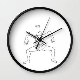 Interpretive Dance Wall Clock