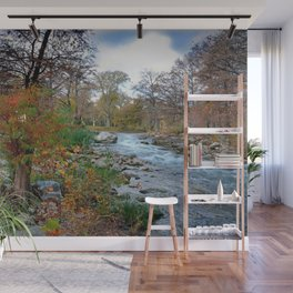 The Guadalupe River Wall Mural