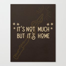 But Its Home Potter Gryf Canvas Print
