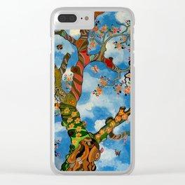 Tree of Life II - Male Marula Tree Clear iPhone Case