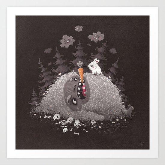 The Monsterhill Art Print