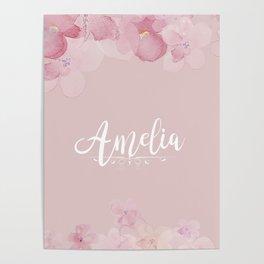 Name Amelia Poster
