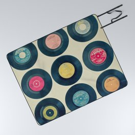 Vinyl Collection Picnic Blanket