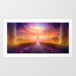 Higher Consciousness Art Print