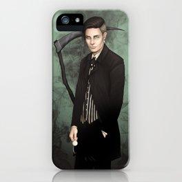 Harbinger of Death iPhone Case