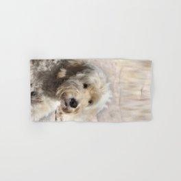 Dog Goldendoodle Golden Doodle Hand & Bath Towel